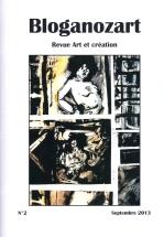 Bloganozart n°2. (2013) Couverture de Jacques Cauda