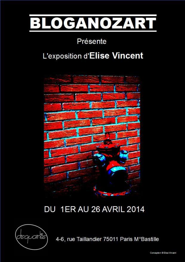 Affiche Elise Vincent