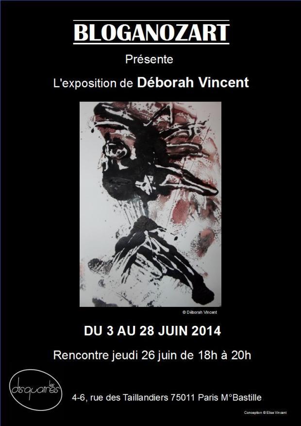 Affiche Déborah Vincent