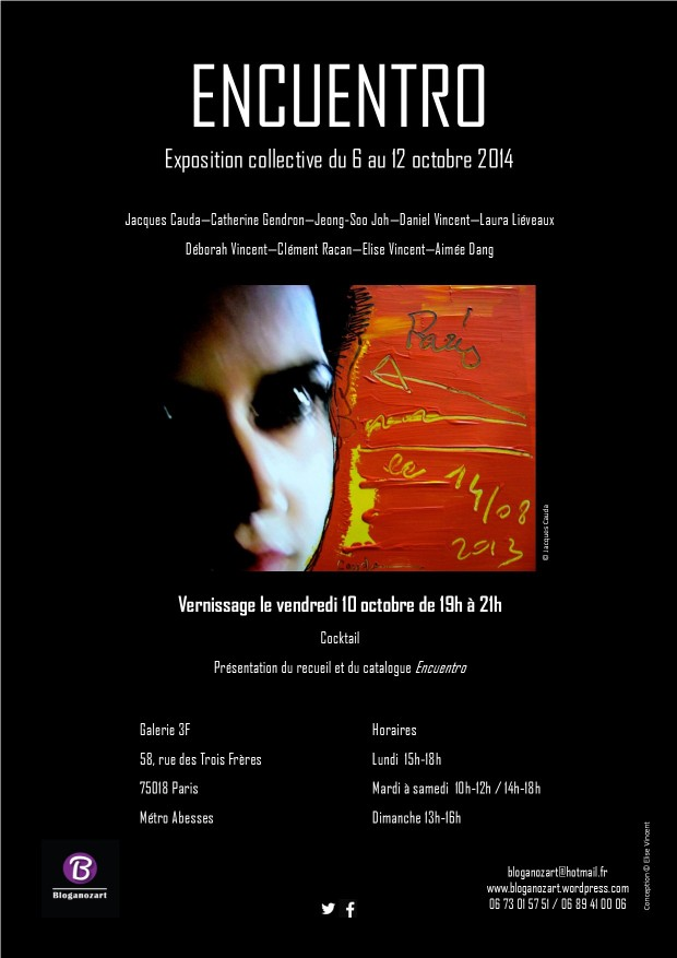 Affiche exposition Encuentro