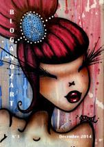 Bloganozart n°3, décembre 2014, signée par l'artiste STOUL.