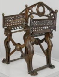 trône de dagobert